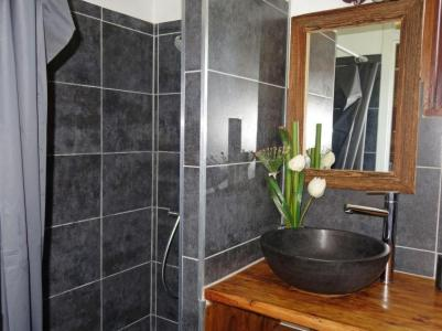Rent in ski resort 1 room apartment 4 people (2) - Castel des Roches - Saint Gervais - Shower room