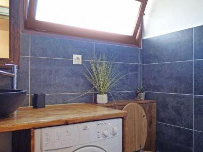 Rent in ski resort 1 room apartment 4 people (2) - Castel des Roches - Saint Gervais - Washing machine