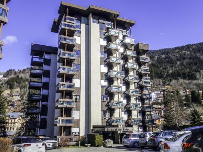 Rent in ski resort 1 room apartment 4 people (2) - Castel des Roches - Saint Gervais - Winter outside