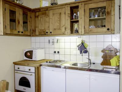 Rent in ski resort 2 room apartment 4 people (3) - Central Résidence - Saint Gervais - Kitchen
