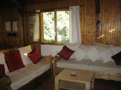 Location au ski Chalet duplex 6 pièces 12 personnes - Chalet Chantanou - Saint Gervais - Canapé