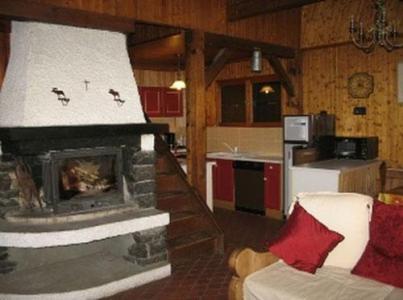 Location au ski Chalet duplex 6 pièces 12 personnes - Chalet Chantanou - Saint Gervais - Séjour