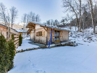 Rent in ski resort 4 room chalet 6 people (2) - Chalet Cosy - Saint Gervais - Winter outside