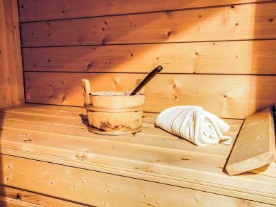 Rent in ski resort 4 room chalet 8 people (1) - Chalet Cosy - Saint Gervais - Sauna