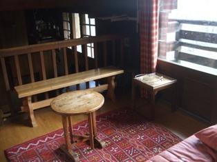 Location au ski Chalet triplex 4 pièces 8 personnes - Chalet Gibotteau - Saint Gervais - Table basse