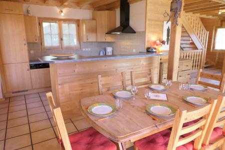 Rent in ski resort 4 room mezzanine chalet 6 people - Chalet Granier - Saint Gervais