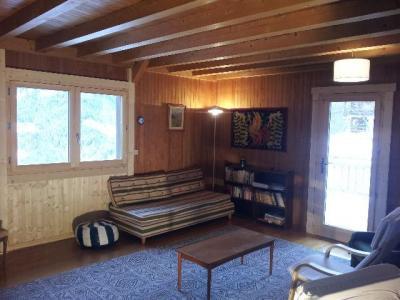 Location au ski Chalet duplex 5 pièces 10 personnes - Chalet Le Chantelet - Saint Gervais - Séjour