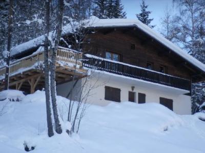 Location au ski Chalet duplex 5 pièces 10 personnes - Chalet Le Chantelet - Saint Gervais - Extérieur hiver