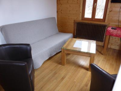Rent in ski resort 5 room chalet 10 people (PYLONE) - Chalet Pylone - Saint Gervais - Living room