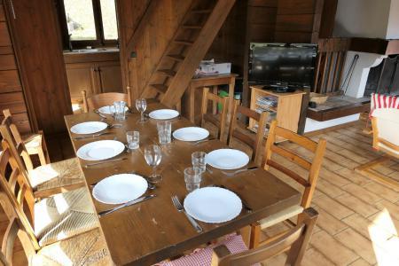 Rent in ski resort 5 room duplex chalet 8 people - Chalet Saint Nicolas - Saint Gervais - Apartment