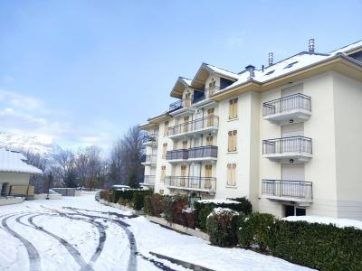 Rent in ski resort 2 room apartment 4 people (3) - Domaine de Crespin - Saint Gervais - Winter outside