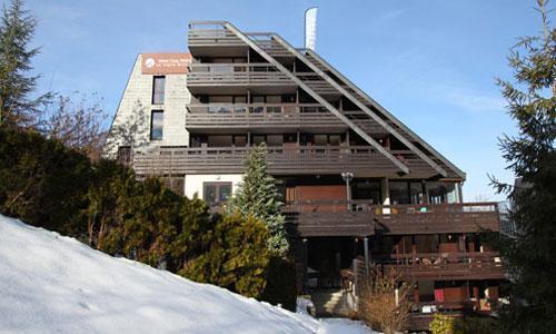 Location au ski Hotel Club Mmv Monte Bianco - Saint Gervais - Extérieur hiver