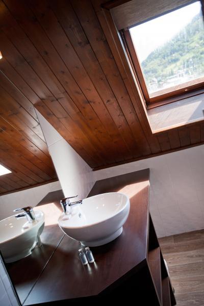 Location au ski Hôtel Club MMV Monte Bianco - Saint Gervais - Salle d'eau