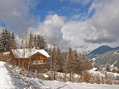 Rent in ski resort 7 room chalet 10 people (1) - L'Epachat - Saint Gervais - Winter outside
