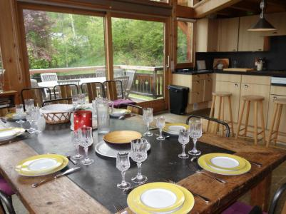 Rent in ski resort 7 room chalet 10 people (1) - L'Epachat - Saint Gervais - Apartment