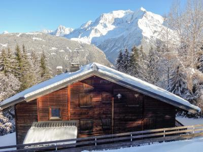 Rent in ski resort 1 room apartment 4 people (2) - Le Taguy - Saint Gervais - Winter outside