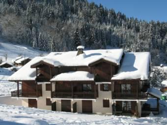 Location au ski Les Chalets De Tete Rousse - Les Marmottes - Saint Gervais - Extérieur hiver
