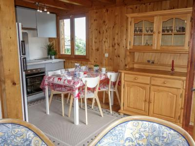 Rent in ski resort 4 room apartment 6 people (2) - Les Farfadets - Saint Gervais - Living room
