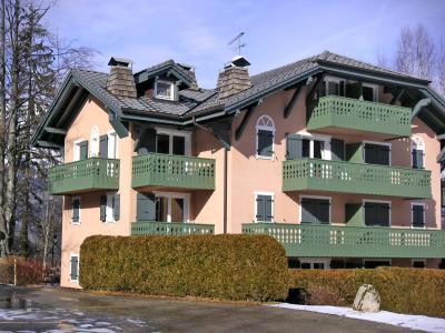 Rent in ski resort Parc du Mont Joly - Saint Gervais - Winter outside
