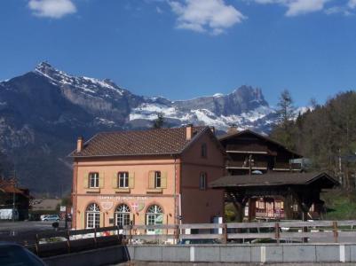 Rent in ski resort 1 room apartment 4 people (4) - Pointe des Aravis - Saint Gervais - Apartment