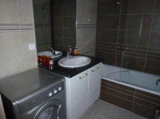 Location au ski Appartement 2 pièces mezzanine 8 personnes (21) - Residence Crespin - Saint Gervais - Baignoire