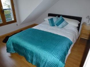 Location au ski Appartement 2 pièces mezzanine 8 personnes (21) - Residence Crespin - Saint Gervais - Chambre mansardée