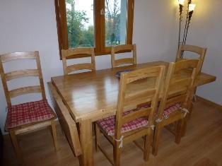 Location au ski Appartement 2 pièces mezzanine 8 personnes (21) - Residence Crespin - Saint Gervais - Table