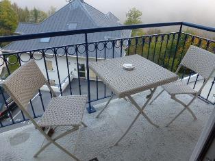 Location au ski Appartement 2 pièces mezzanine 8 personnes (21) - Residence Crespin - Saint Gervais - Terrasse