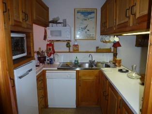 Location au ski Appartement 4 pièces 6 personnes (A31) - Residence De La Christaz - Les Clavaires - Saint Gervais - Cuisine