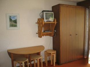 Location au ski Studio coin montagne 4 personnes (B02) - Residence De La Christaz - Les Collybies - Saint Gervais - Coin repas