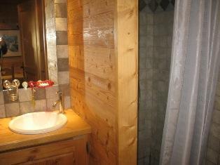 Location au ski Studio coin montagne 4 personnes (B02) - Residence De La Christaz - Les Collybies - Saint Gervais - Salle d'eau