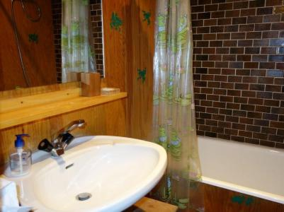 Rent in ski resort 1 room apartment 2 people (1) - Résidence de Pierre Plate - Saint Gervais - Bathroom