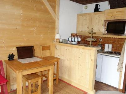 Rent in ski resort 1 room apartment 2 people (1) - Résidence de Pierre Plate - Saint Gervais - Kitchenette