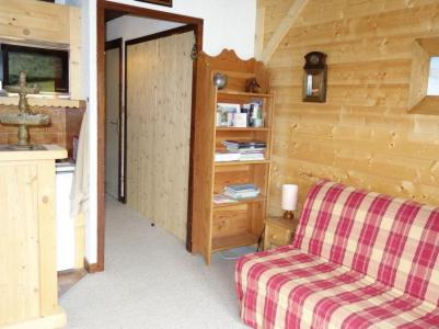 Rent in ski resort 1 room apartment 2 people (1) - Résidence de Pierre Plate - Saint Gervais - Living room