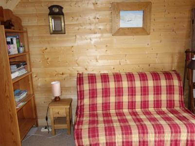 Rent in ski resort 1 room apartment 2 people (1) - Résidence de Pierre Plate - Saint Gervais - Settee
