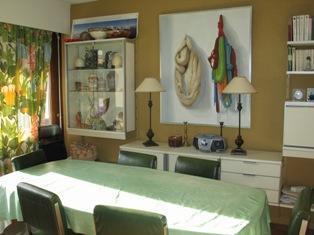 Location au ski Appartement 4 pièces 8 personnes (79) - Residence Fleurs Des Alpes - Saint Gervais - Coin repas