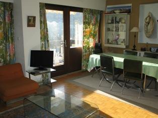 Location au ski Appartement 4 pièces 8 personnes (79) - Residence Fleurs Des Alpes - Saint Gervais - Salle à manger
