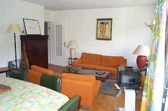 Location au ski Appartement 4 pièces 8 personnes (79) - Residence Fleurs Des Alpes - Saint Gervais - Séjour
