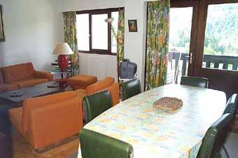 Location au ski Appartement 4 pièces 8 personnes (79) - Residence Fleurs Des Alpes - Saint Gervais - Table
