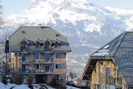 Location au ski Résidence Lagrange les Arolles - Saint Gervais - Extérieur hiver