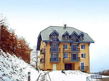 Location au ski Residence Lagrange Les Arolles - Saint Gervais - Extérieur hiver