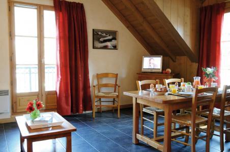Location au ski Résidence Lagrange les Arolles - Saint Gervais - Coin repas