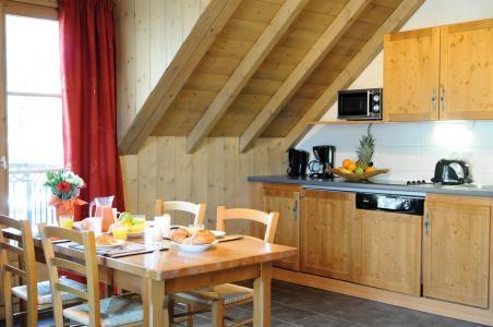 Location au ski Résidence Lagrange les Arolles - Saint Gervais - Kitchenette