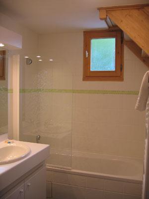 Location au ski Residence Lagrange Les Arolles - Saint Gervais - Salle de bains