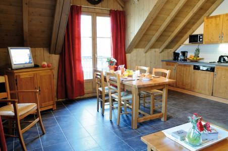 Location au ski Résidence Lagrange les Arolles - Saint Gervais - Séjour