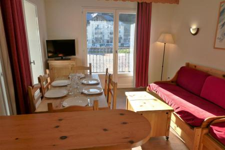 Rent in ski resort 3 room apartment 6 people (105) - Résidence le Grand Panorama - Saint Gervais - Living room