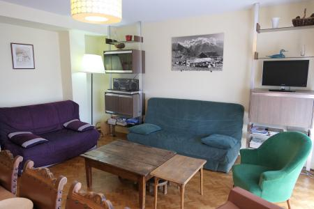 Rent in ski resort 3 room apartment 6 people (773) - Résidence Le Paradiso - Saint Gervais - Living room