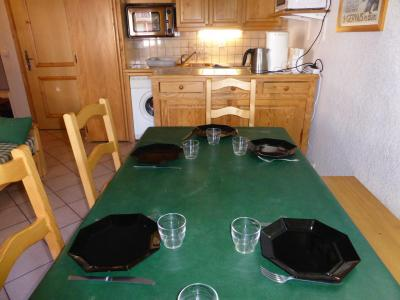 Rent in ski resort 3 room apartment sleeping corner 6 people (B03) - Résidence les Jardins Alpins - Saint Gervais