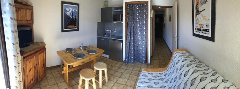 Rent in ski resort Studio sleeping corner 2-4 people (853) - Résidence Vorrasset - Saint Gervais