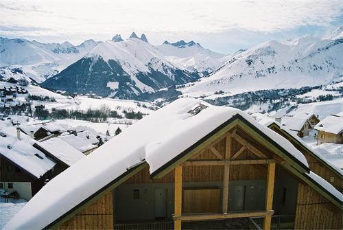 Location au ski La Fontaine Du Roi - Saint Jean d'Arves - Extérieur hiver